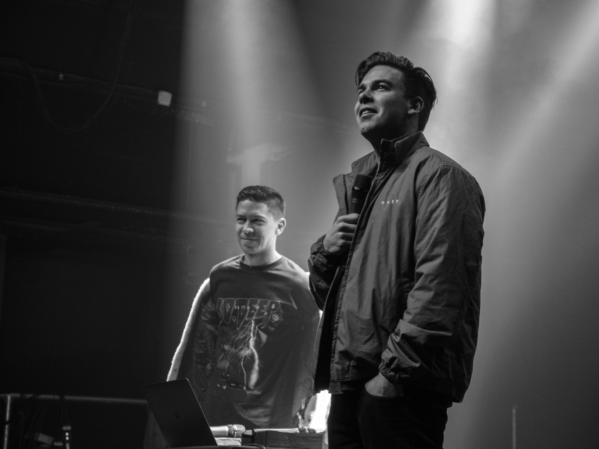 Cody Ko and Noel Miller in Atlanta at The Masquerade