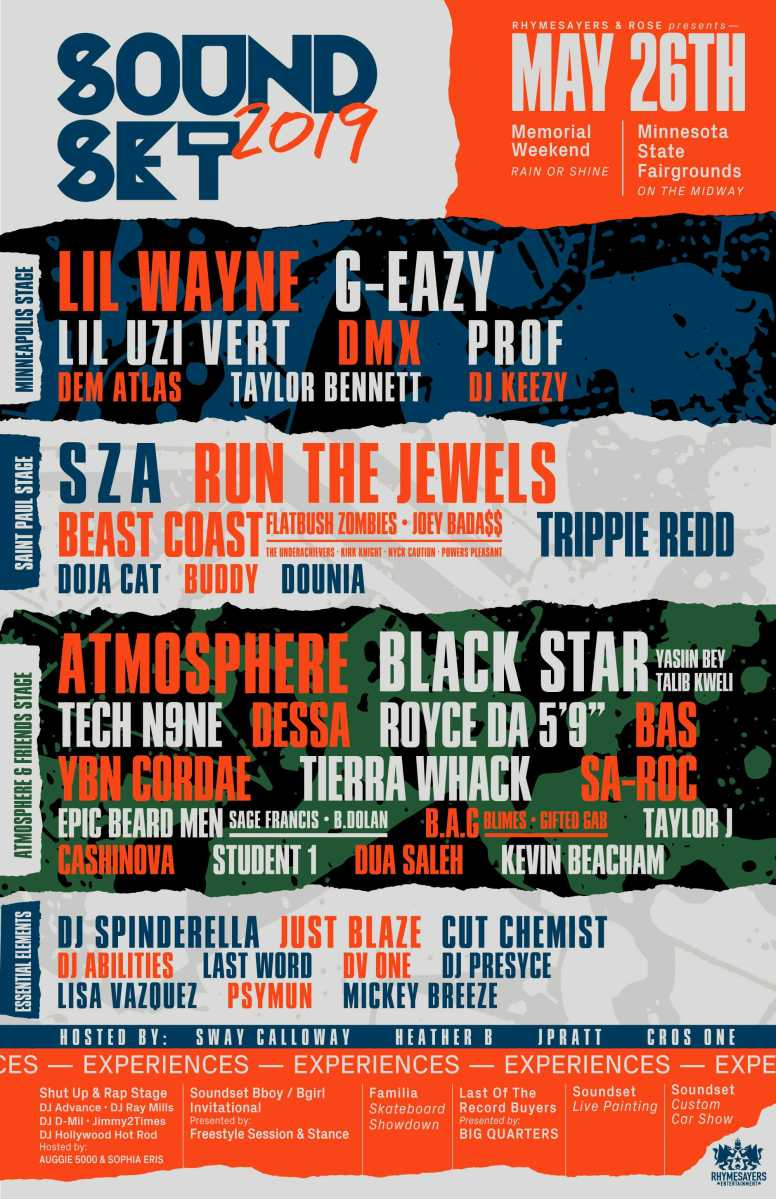 Soundset 2019 Lineup Announced