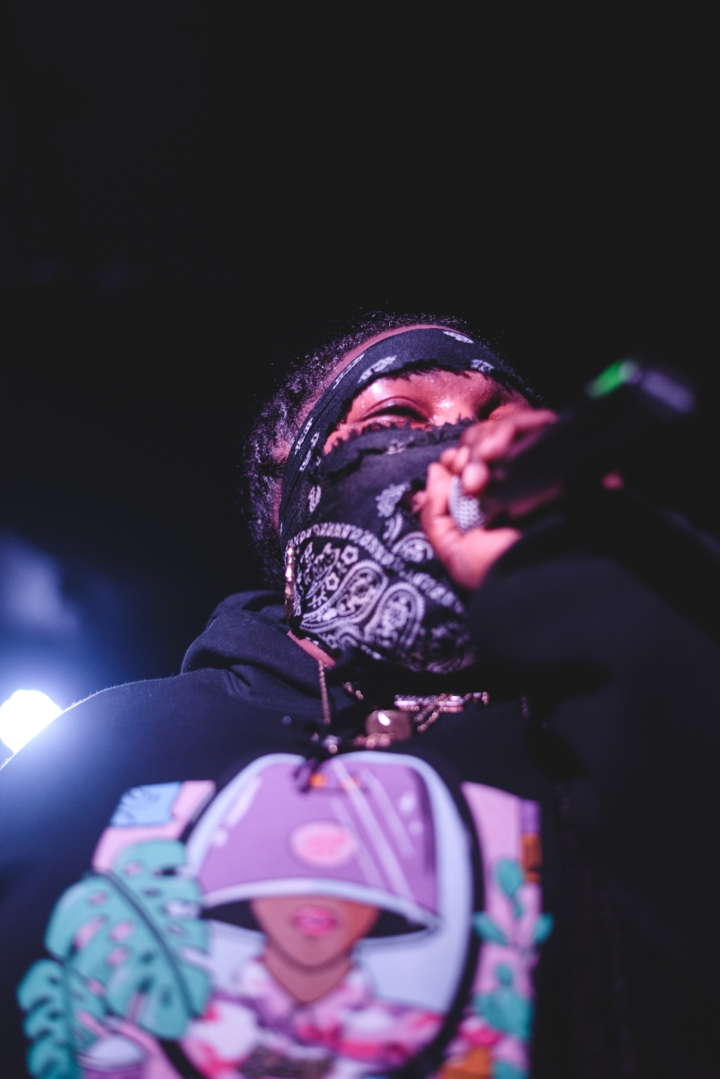 Leikeli47 in Atlanta at The Loft